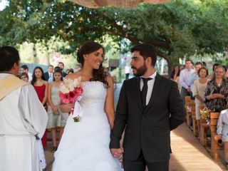 El matrimonio de Virggi y Conny