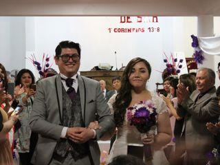 El matrimonio de Haydée y Jonathan