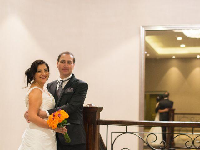 El matrimonio de Jacqueline y Christian