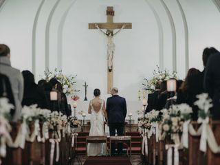 El matrimonio de Romina y Rodrigo