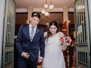 El matrimonio de Camila y Abraham