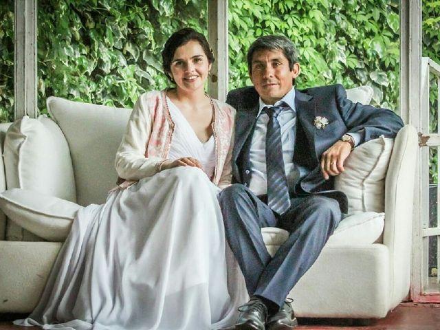 El matrimonio de Rosa y Delfín