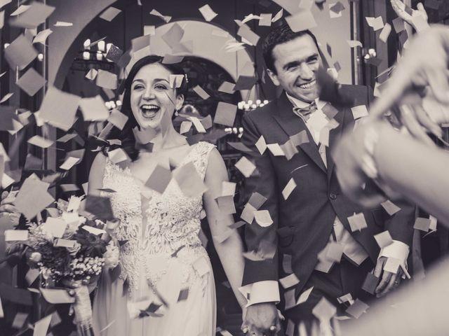 El matrimonio de Daniela y Mario