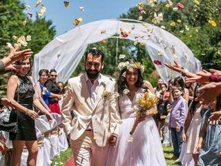 El matrimonio de Gonzalo y Leslie