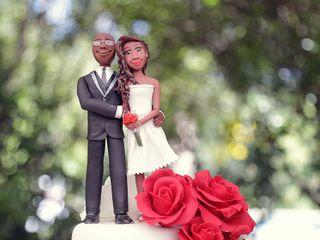 El matrimonio de Jiniva y Dan 1