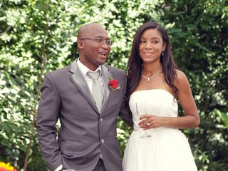 El matrimonio de Jiniva y Dan