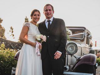 El matrimonio de Brian y Catarina