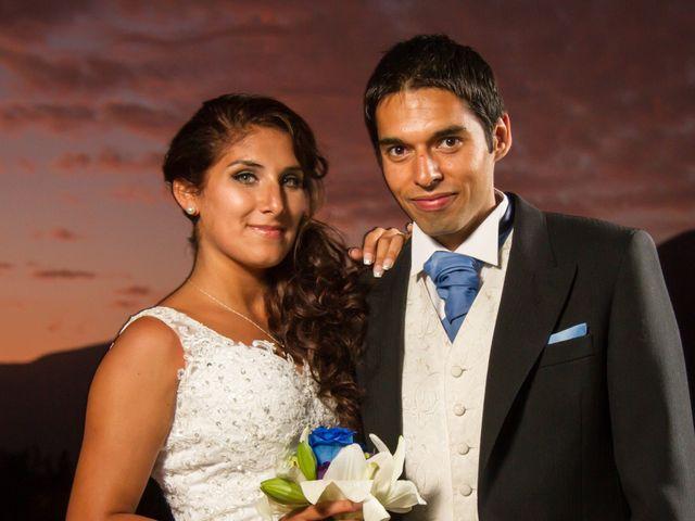 El matrimonio de Oriana y Jaime