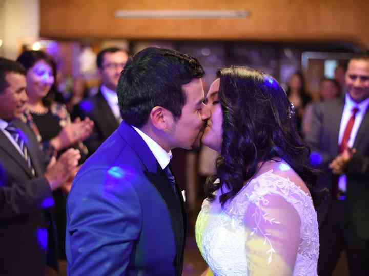 El matrimonio de Lisette y Juan