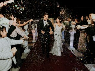 El matrimonio de María Paz y Jaled