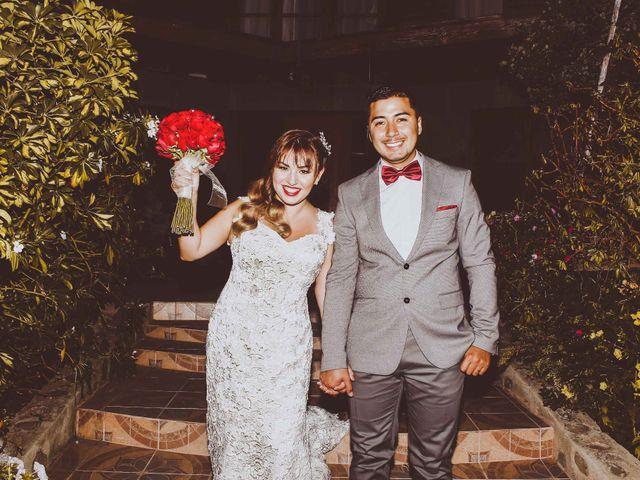 El matrimonio de Marjhory y Diego
