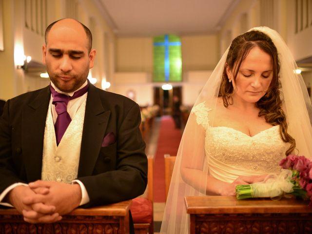 El matrimonio de Fabiola y Álvaro
