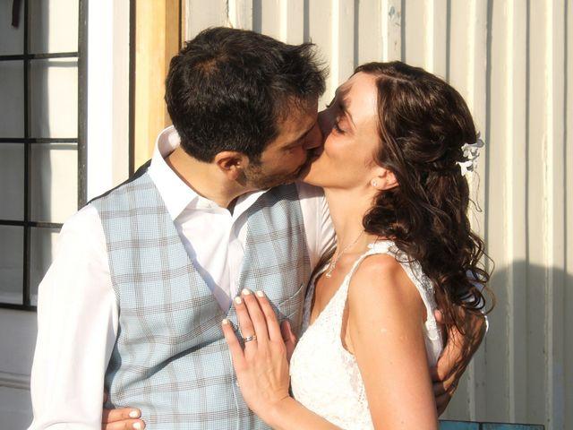 El matrimonio de Bernardita y Christian
