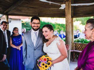 El matrimonio de Anita y Seba