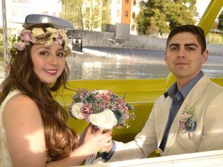 El matrimonio de Evelyn y Danilo