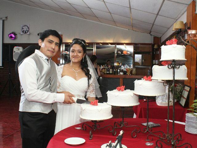 El matrimonio de María José y Fernando