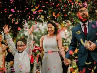 El matrimonio de Male y Santiago