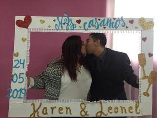 El matrimonio de Karen  y Leonel