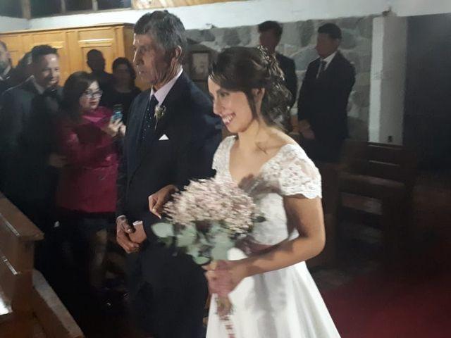 El matrimonio de Mariana y Oscar