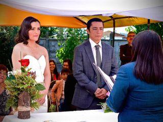 El matrimonio de Pauly y Juan Carlos