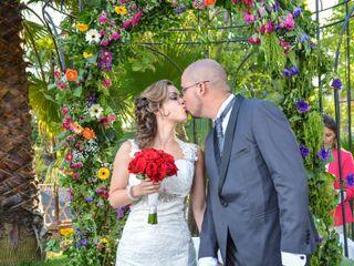 El matrimonio de Vilmely y Edgardo