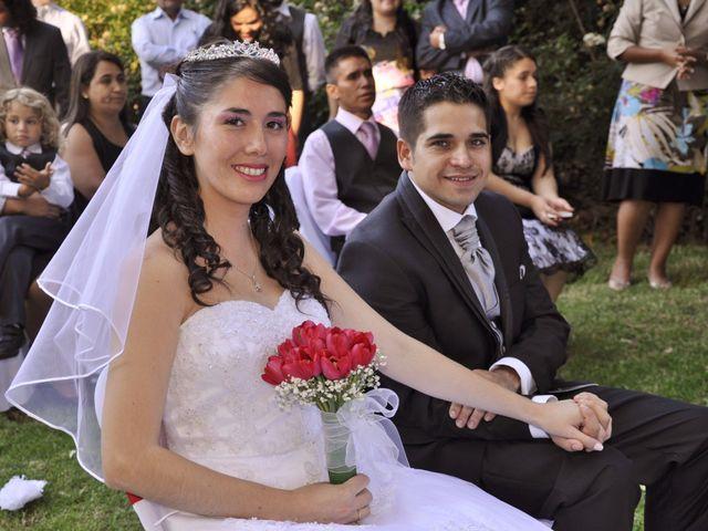 El matrimonio de Andres y Darling en Peñalolén, Santiago 1