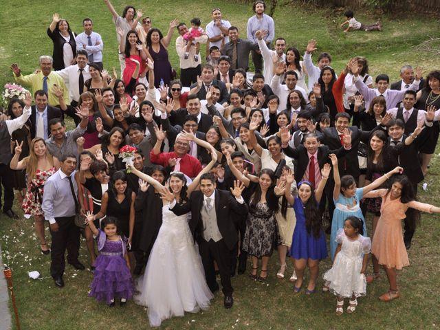 El matrimonio de Andres y Darling en Peñalolén, Santiago 2