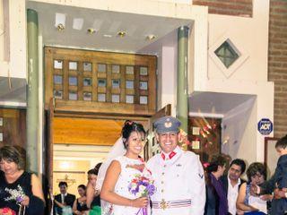 El matrimonio de Maciel y Diego