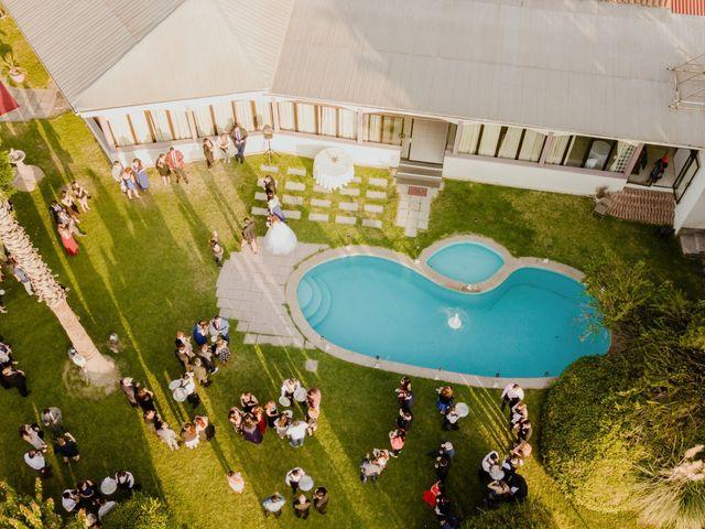 El matrimonio de Henry y Natalia en La Florida, Santiago 13
