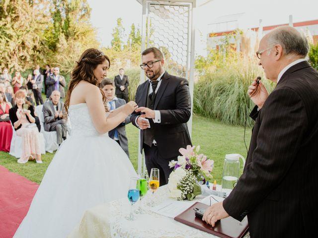 El matrimonio de Henry y Natalia en La Florida, Santiago 19