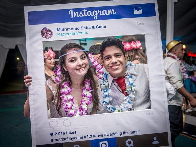 El matrimonio de Camila y Sebastian