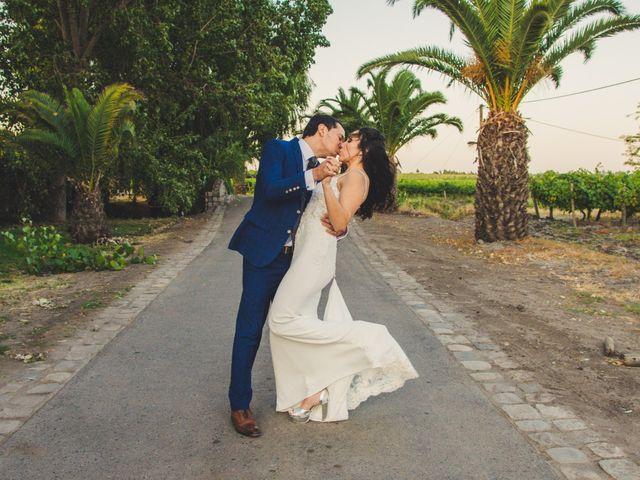 El matrimonio de Constanza y Luis