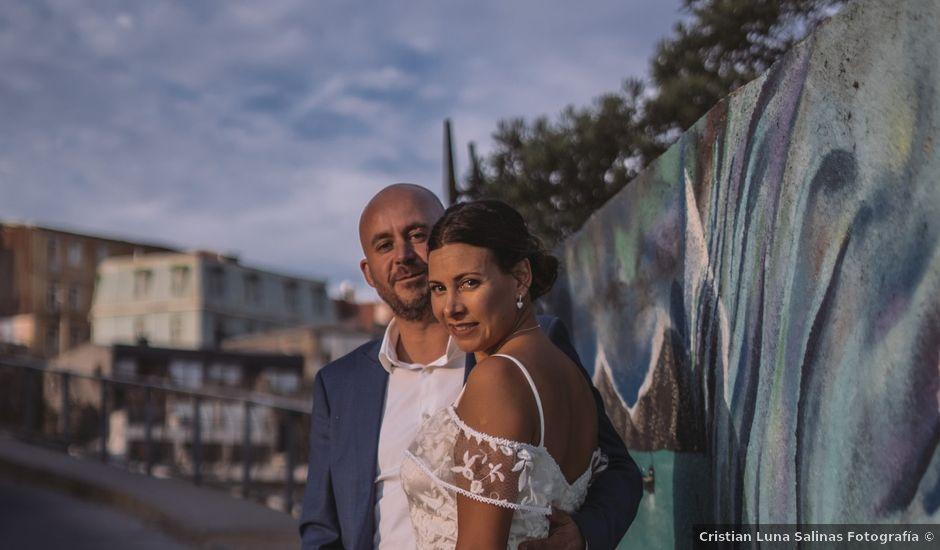 El matrimonio de Claudio y Luciana en Valparaíso, Valparaíso