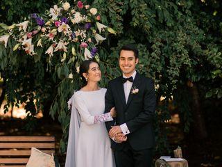 El matrimonio de Felipe Ignacio y Paula Antonia