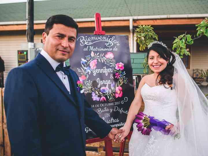 El matrimonio de Yeniffer y Jorge