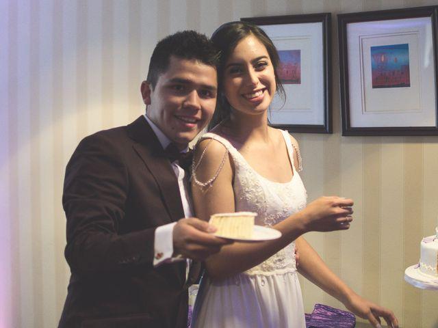 El matrimonio de Carla y Marco