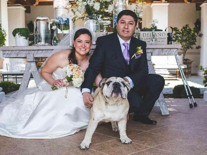 El matrimonio de Marcela y José