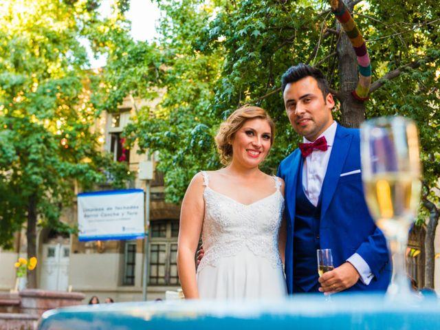 El matrimonio de Jennifer y Pablo