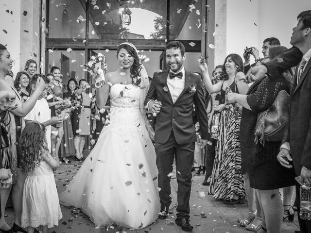 El matrimonio de Lorena y Cristian