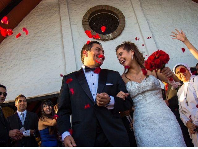 El matrimonio de María Luisa y Marcelo