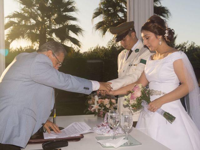 El matrimonio de Sebastián  y Edelmira  en Rauco, Curicó 2