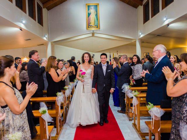 El matrimonio de Camila y Allan