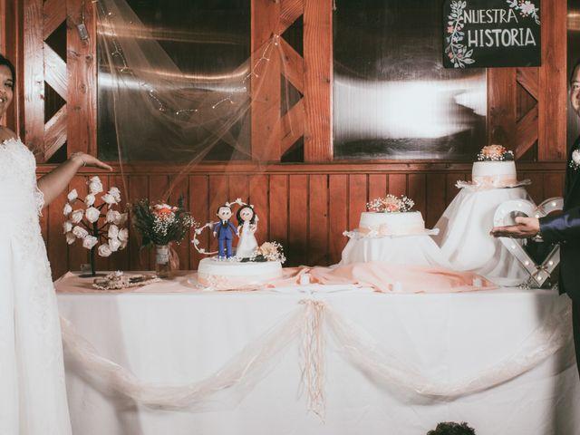 El matrimonio de Olga y Osvaldo