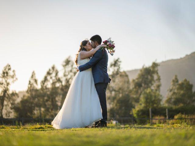 El matrimonio de Joel  y Macarena