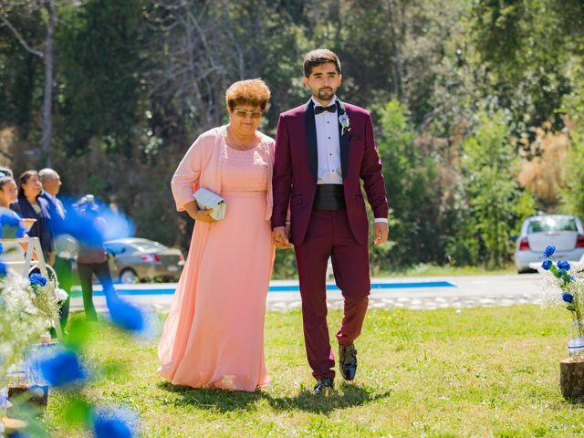 El matrimonio de Fernanda y Alexis en San Fabián, Ñuble 12