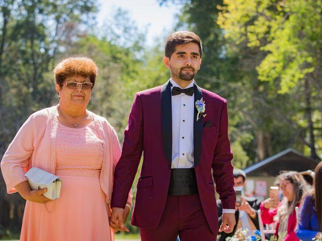 El matrimonio de Fernanda y Alexis en San Fabián, Ñuble 13