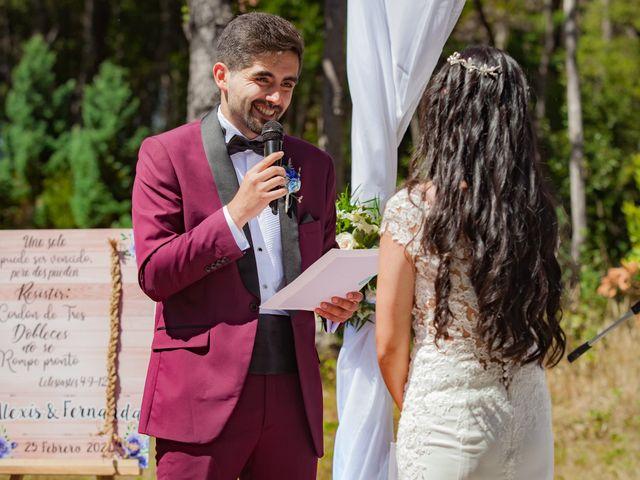 El matrimonio de Fernanda y Alexis en San Fabián, Ñuble 28