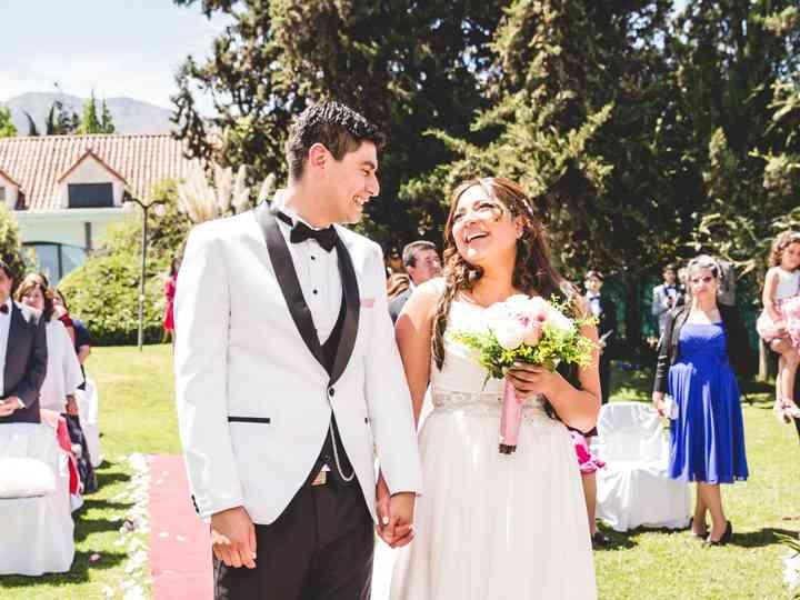 El matrimonio de Paula y Patricio