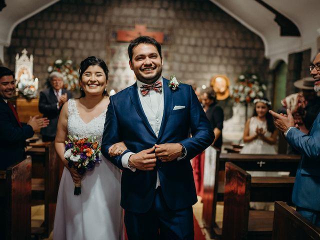 El matrimonio de Geraldine y Mauricio