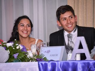 El matrimonio de Abigail y Nicolás